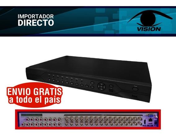 Dvr 32 Canales Full Hd Camaras De Seguridad Cctv 1080p