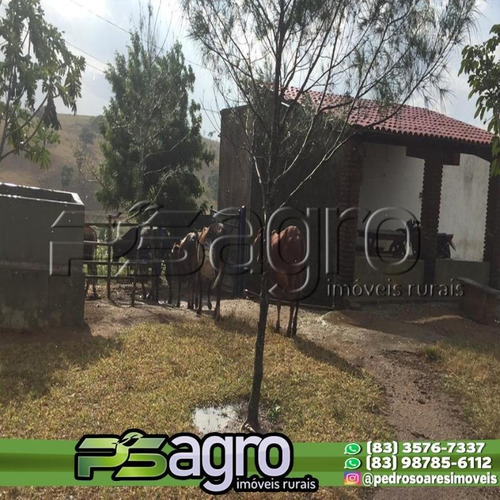 Chácara À Venda, 100000 M² Por R$ 1.300.000,00 - Bananeiras - Bananeiras/pb - Ch0022