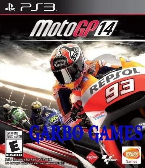 Jogo De Ps3 Moto Gp 14 Em Mídia Digital