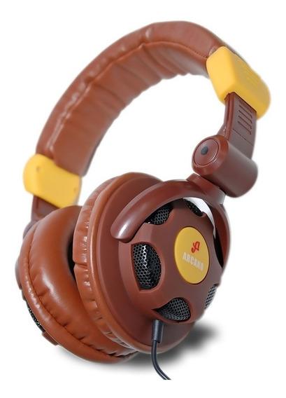 Arcano Fone Para Dj Musicos E Estudio Arc-xhp100 Qualidade
