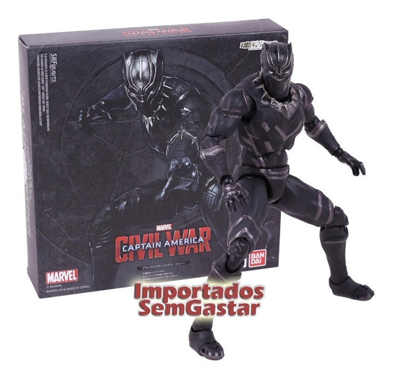 Boneco Pantera Negra Do Filme Black Panther
