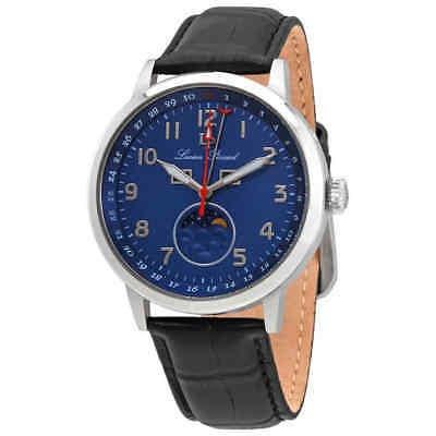 Lucien Piccard, Esfera Azul, Reloj De Cuero Para Hombre 400