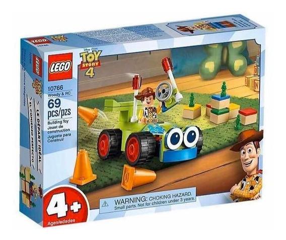 Lego 10766 Toy Story Woody & Rc !! Liquidación Caja Mal