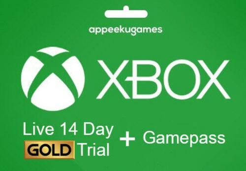 Xbox Live Gold 14 Dias Con Game Pass (código)