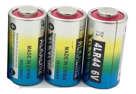03 Pilha Bateria 4lr44 6v Coleira Anti Latido 476a A544x