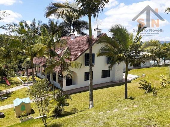 Chácara Com 4 Dormitórios À Venda, 17297 M² Por R$ 1.100.000,00 - Copaco - Arujá/sp - Ch0006