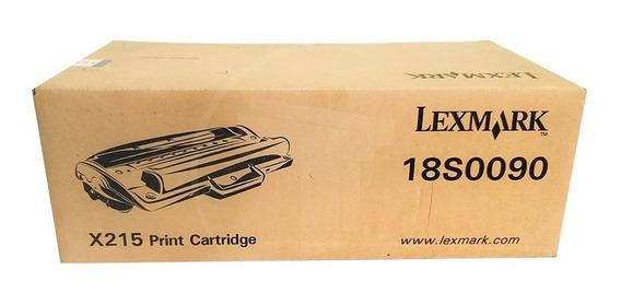 Toner Lexmark Original X215 18s0090 X215 Mfp Negro