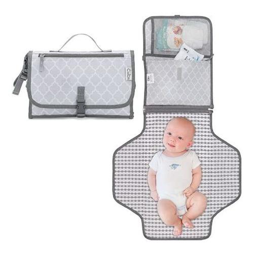 Imagen 1 de 7 de Cambiador Portátil Para Bebé, Bolsa De Pañales, Estación