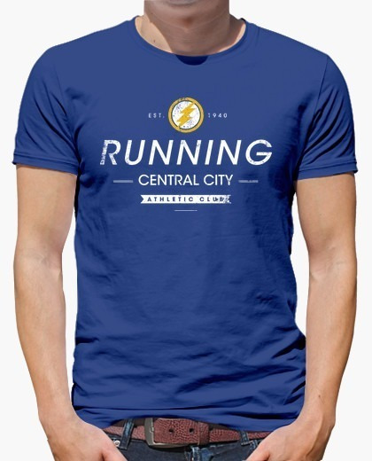 Playera The Flash Central City Running Club
