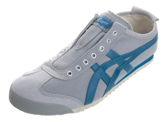 Tenis Onitsuka Tiger Unisex Gris Azul Mexico 66 D3k0n1356