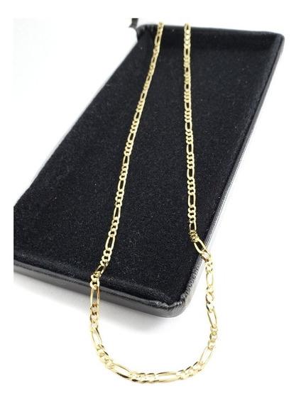 Elegante Cadena Cartier Oro Sólido 10k Garantizado 55cm