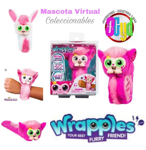 Wrapples Brazalete Mascota Interactiva (varios Modelos)