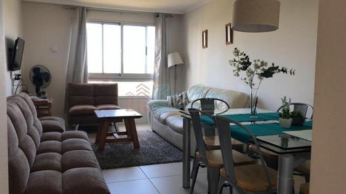 Apartamento En Brava, 1 Dormitorio Alquiler Anual- Ref: 2527