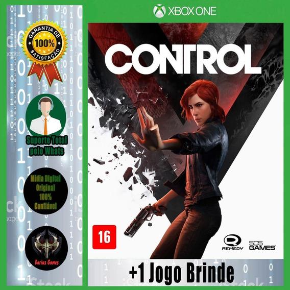 Control Xbox One Midia Digital +1 Jogo Brinde