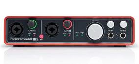 Interface De Áudio Focusrite - Scarlett 6i6 Usb
