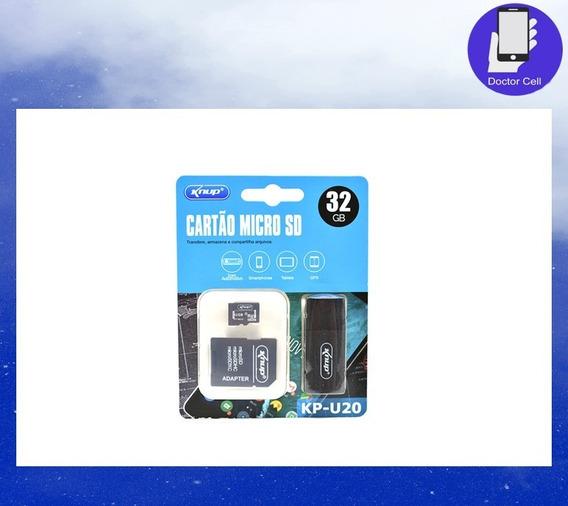 Cartão Micro Sd Knup Kp-u20 32 Gb