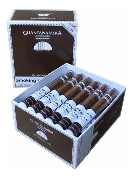 Habanos Guantanamera Cristales Hechos En Cuba Caja X 25