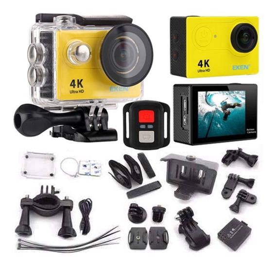 Câmera Eken H9r 4k Original Wifi Full Hd Mergulho + Controle