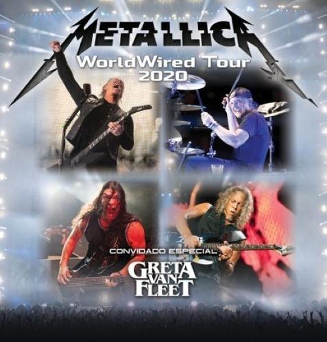 Ingressos Metallica São Paulo 2020