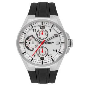 Relógio Orient Mbspm015 Masculino Sport Pulseira De Silicone