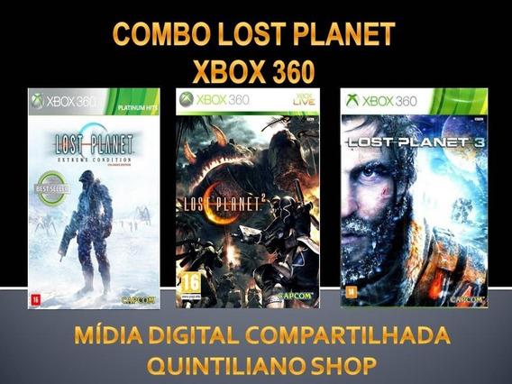 Lost Planet 1,2 E 3 Super Combo Xbox 360 Mídia Digital