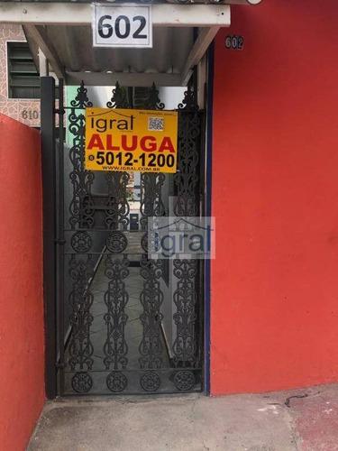 Casa Com 1 Dormitório Para Alugar, 30 M² Por R$ 850,00/mês - Jardim Oriental - São Paulo/sp - Ca0841