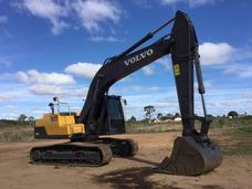 Excavadora Volvo Ec220d Ano 2016 3.590hs.