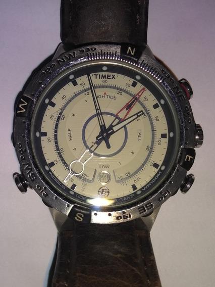 Relógio Timex E-tide Temp Compass *tábua De Maré