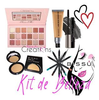 Kit De Maquillaje Bissu Y Beauty Creations