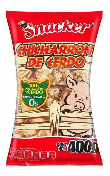 Chicharrón De Cerdo Snacker 400gr