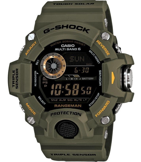 Casio G-shock Master Of G Rangeman Gw-9400-3 Sensor Triple