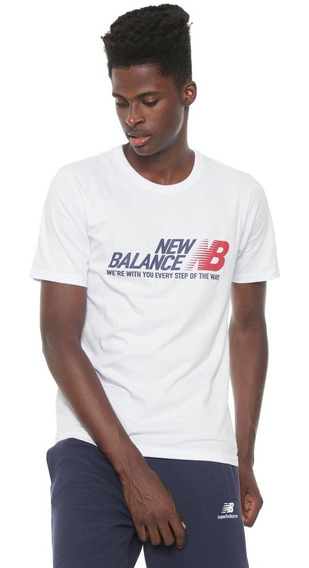 Remera De Hombre New Balance Essentials Step