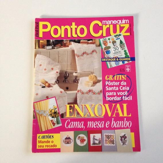 Revista Manequim Ponto Cruz Enxoval Cartões B142