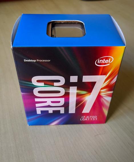 Processador Intel Core I7 6700. Cooler Box Novo!