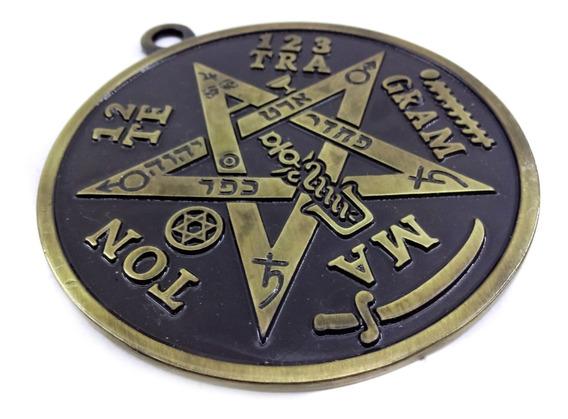 Pantáculo Tetragrammaton Pentagrama 10 Cm