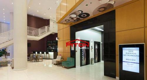 Imagem 1 de 18 de Flat Com 1 Dormitório À Venda, 64 M² Por R$ 300.000,00 - Centro - Campinas/sp - Fl0004