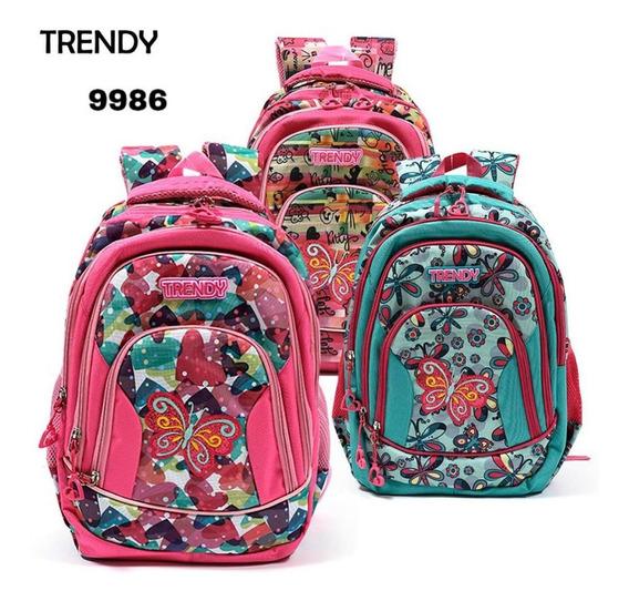 Mochila Trendy Original Mundo Moda 9986 Zoe