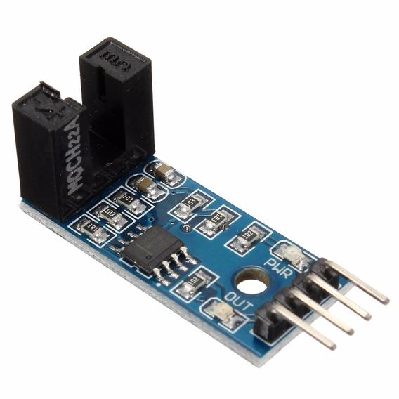 Módulo Encoder Acoplador Óptico Sensor Velocidade Arduino