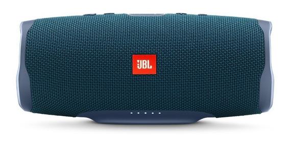 Caixa De Som Portátil Jbl Charge 4 Com Bluetooth Azul