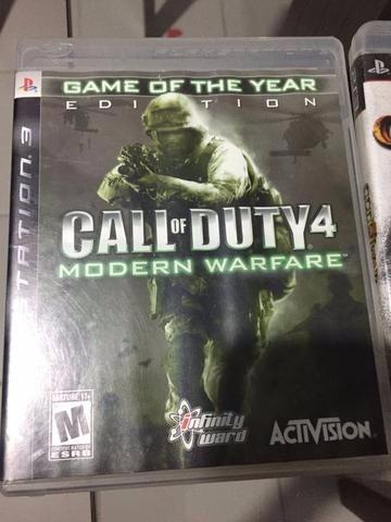 Call Of Duty 4 - Modern Warfare - Ps3