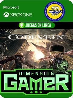 Code Vein - Xbox One Modo Local + En Linea