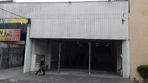 Imagem 1 de 4 de Galpão Para Aluguel, Centro - São Bernardo Do Campo/sp - 68070