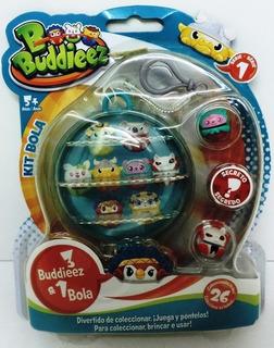 Bbuddieez Kit P/transportar C/3 Unid Y 1 Bola Rre 15007