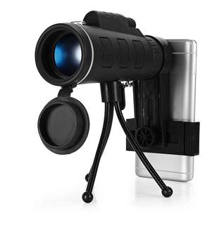 Telescópico Monocular 40x60 Con Adaptador Para Celular