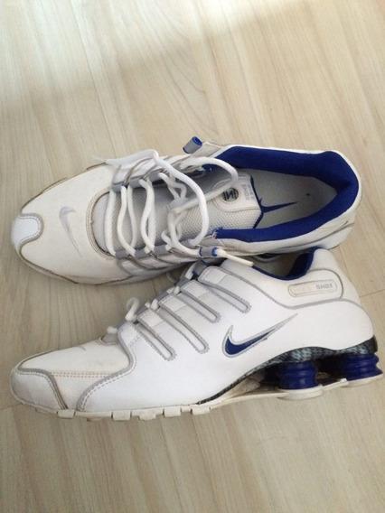 Tênis Nike Shox Nz Couro - 42br - Original