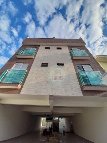 Imagem 1 de 17 de Cobertura Com 2 Dormitórios À Venda, 92 M² Por R$ 380.000,00 - Vila Apiaí - Santo André/sp - Co0073