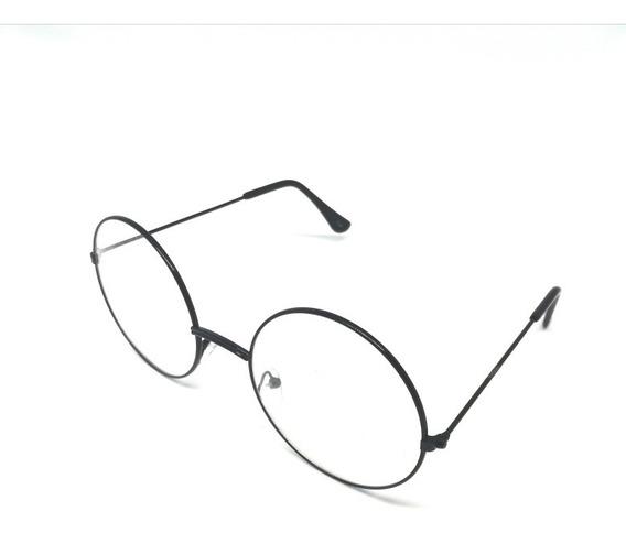 Lentes Redondos Harry Potter Gafas Circulares Lennon +estuch