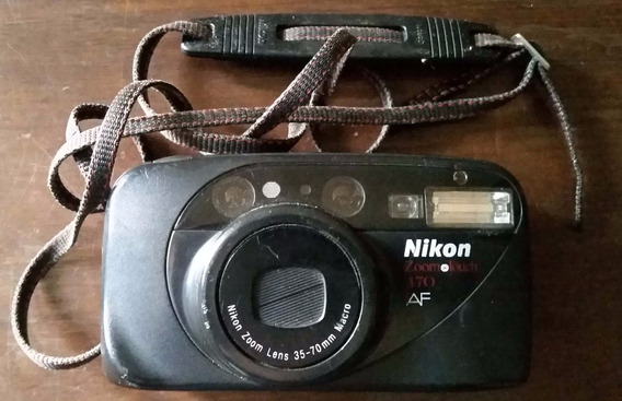 Câmera Nikon Zoom Touch 470 Com Defeito