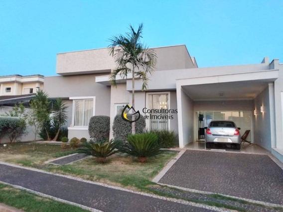 Casa Com 3 Dormitórios À Venda, 316 M² Por R$ 950.000,00 - Condomínio Reserva Real - Paulínia/sp - Ca1115