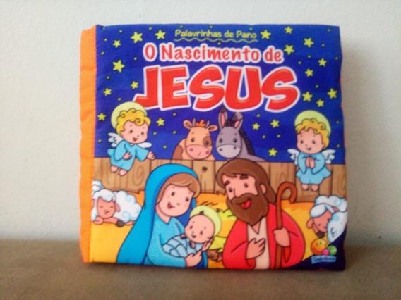 Kit 4 Livros Infantis - Palavrinhas De Pano